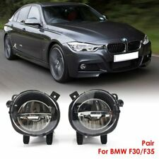 Pair Cree Led Fog Lamp Front Bumper Light Fit For Bmw 3 Series F30f35 2012 2018