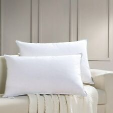 Goose Down Feather Pillow for Sleeping (2 Pack,Queen Soft),100% Cotton Shell