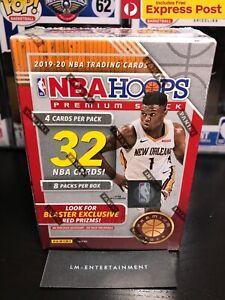 2019-2020 PANINI NBA HOOPS PREMIUM STOCK BASKETBALL BLASTER BOX IN STOCK JA?