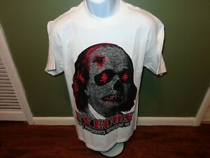 EyeCon BRAND DEAD PRESIDENTS REPRESENT ME  T SHIRT SIZE MENS MEDIUM