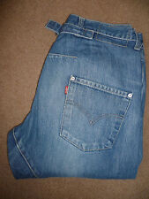 LEVIS TYPE 2 TWISTED ENGINEERED JEANS MID BLUE W30 L30 LEVD217