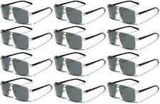 Lot 3 6 12 Wholesale Polarized Square Aviator Sunglasses Fishing Driving Glasses