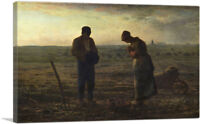 ARTCANVAS The Angelus 1859 Canvas Art Print by Jean-Francois Millet