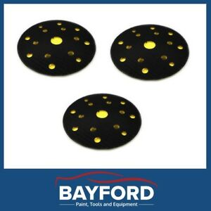 BACK UP PAD 150MM 150MM EASY ATTACHMENT QUICK REMOVAL DYNABRADE 3M FITTMENT (3)