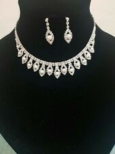 Diamante Diamonte Ladies Belt Chain Silver One Size Spaced Apart 1 2 3 4 5 6 Row