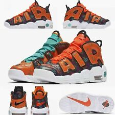 "Nike Air More Uptempo GS ""What The 90's Pack"" Shoes (AT3408-800) SZ 6.5Y-7.5Wms"