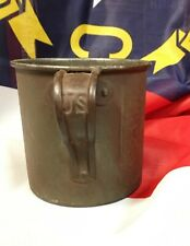 mess cup, U.S. Army late 1800s-early 1900s issue tin