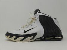 2005 Nike Air Shox Zoom Flight 050608 LN2 white / black Men's US size 10.5