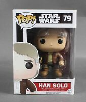 Funko POP Star Wars #79 Han Solo Vinyl Bobble-Head 1088W