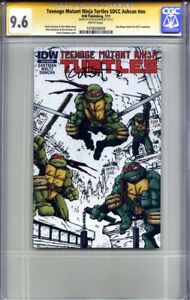 TEENAGE MUTANT NINJA TURTLES SDCC ASHCAN #1 CGC 9.6 SS KEVIN EASTMAN (Exclusive)
