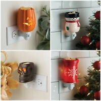 Candle Warmers Holiday Plug In Wax Melter Scented Melts Tarts Oils Your Choice