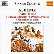 Guillermo Gonz lez - Piano Music 3/ 6 Danzas Espanolas / 6 Pequenos [New CD]