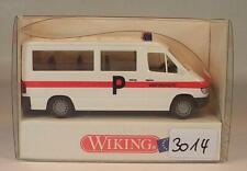 Wiking 1/87 Nr.109 02 Mercedes Benz Sprinter Polizei Kantonspolizei OVP #3014