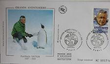 ENVELOPPE PREMIER JOUR - 9 x 16,5 cm - ANNEE 2000 - PAUL-EMILE VICTOR - N° 716