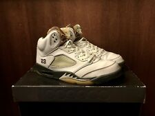 Nike Genuine Men's Rare Air Jordan 5 Retro Del Sol Dark Army Shoes Size US 11