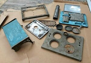 Antique Cast Iron Novelty Toy Stove Parts or Restore