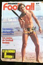 France Football 23/06/1981; Etroeungt, champion de France Féminin/ Cuiseaux