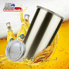 20oz Stainless Steel Insulated Coffee Cup Double Wall Beer Tea Travel Mug 600ml