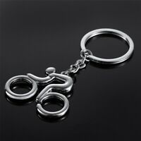 Men key ring key chain Silver bicycle keychain for car metal key chains b49