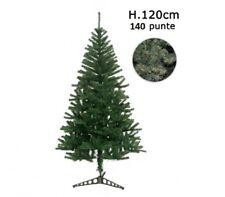 Albero di Natale Artificiale 140 Punte 120 cm Pino Natalizio