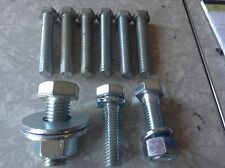 (9) assorted bolts & miscellaneous hardware
