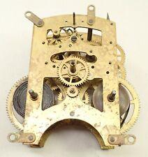 Antique Waterbury Mantel Shelf Clock Movement Parts Repair