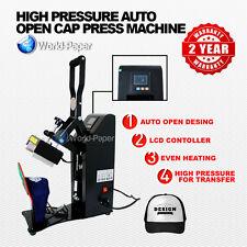 Auto-Open Cap Heat Press
