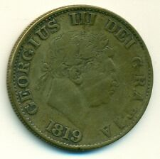 GREAT BRITAIN 1/2 Crown, 1819, VF