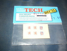 EXTRA TECH DECAL 1/72 SCALE ZNAK BRIGADY FORMATION BADGE NEW