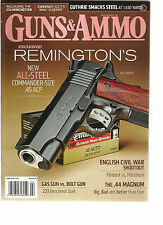 GUNS & AMMO, FEBRUARY, 2013 ( EXCLUSIVE REMINGTON'S * ENGLISH CIVIL WAR SHOOTOUT