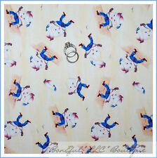 BonEful Fabric FQ Cotton Quilt Baby Boy Nursery Rhyme Humpty Dumpty Story Decor