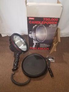Coleman Night Sight 5362-718 12V Halogen Spotlight 750,000 Beam Candlepower
