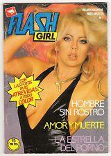 FLASH GIRL nº:  1 (de 15 de la colección completa) ZINCO '80 erótico USA