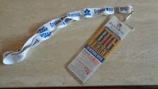 2001 Toronto Blue Jays Opening Week Festival Lanyard & Ticket Offer Brochure MLB