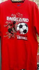 ENGLAND TEE SHIRT IN RED FROM METAPHOR 2XL3XL4XL5XL6XL7XL8XL