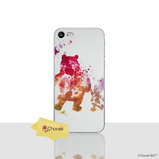 "Disney Case/cover Apple iPhone 7 Plus 5.5"" Screen Protector GEL Winnie The Pooh"