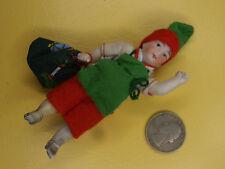 Antique Dolls Germany dwarf christmas child snow child dollhouse  Limbach 1900-