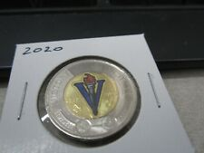 2020 - Canada $2 - Painted WWII - Brilliant Uncirculated Canadian two dollar