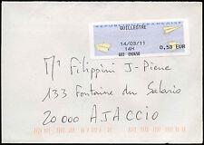 Francia 2011 MACCHINA etichetta commerciale copertura #C 32991