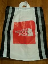 North Face Bag Eco String Tote Sack 100% Recycled Material Green