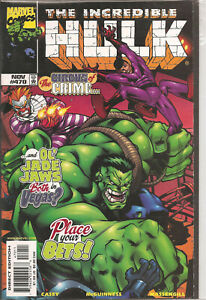°THE INCREDIBLE HULK #470:THE CIRCUS OF CRIME ° US Marvel 1998 Ed McGuiness