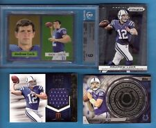 ANDREW LUCK GRADED BGS MINT 9 CHROME ROOKIE +MOMENTUM RC JERSEY +COIN CARD COLTS