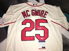 Mark McGwire Signed St. Louis Cardinals Jersey All Star Gold Glove PSA/DNA