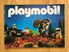 PLAYMOBIL 1987 KATALOG UNITED KINGDOM AUSTRALIA CATALOGUE CATALOGO VINTAGE RARE