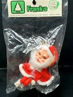 NOS Vintage Santa Knee Hugger Pixie Elf Mid Century Made Japan Mint In Package