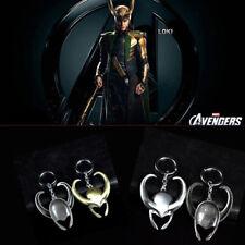 Metal Alloy Marvel The Avengers Loki Helmet Car Keychain Key Chain Keyring