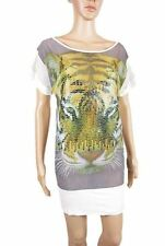 Unbranded Animal Print Tunic Short/Mini Dresses