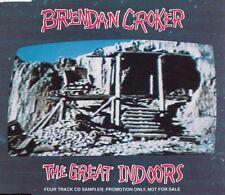 BRENDAN CROKER The Great Indoors | Promo CD mit 4 Tracks