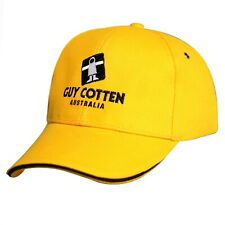 Guy Cotten Cap | Yellow with Black Trim