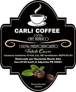 Carli Coffee de Puerto Rico 8 oz / Gourmet Puerto Rican Coffee